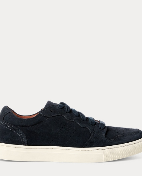 Jeston Suede Low-Top Sneaker