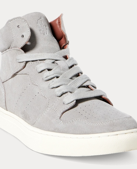 Jory Suede High-Top Sneaker