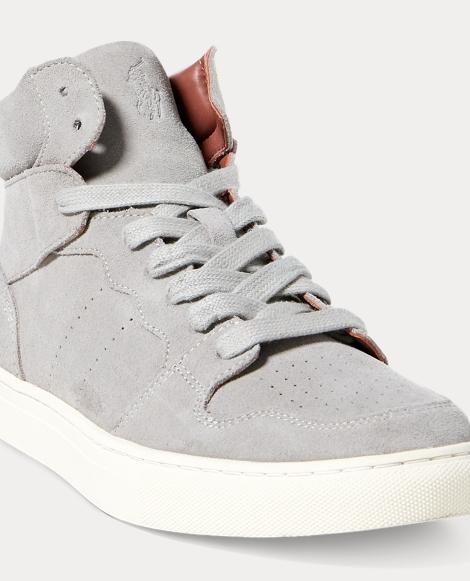 Jory Suede High-Top Sneaker