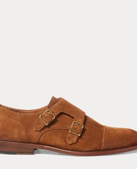 Ardenall Suede Monk-Strap Shoe