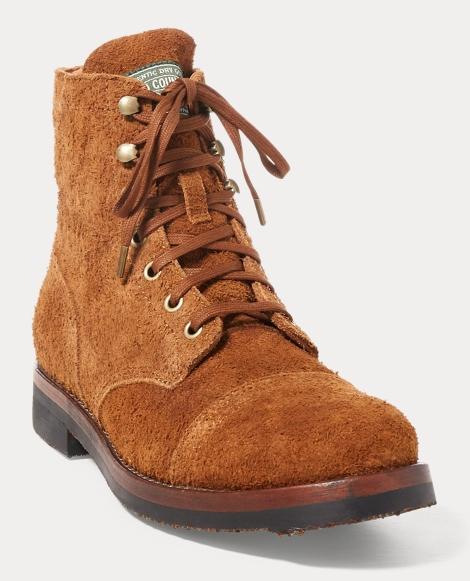 Enville Suede Cap-Toe Boot