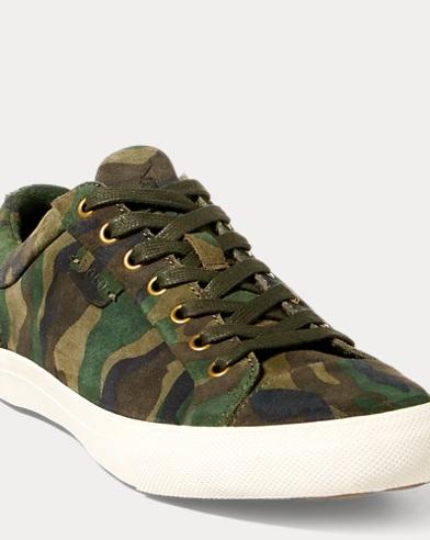 Geffrey Camo Suede Sneaker