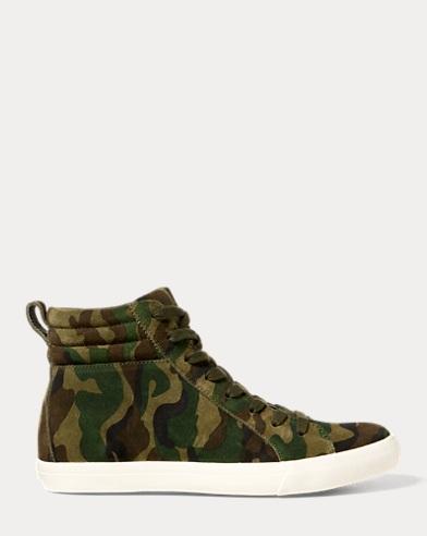 Gaven Camo Suede Sneaker