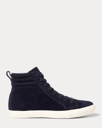 Gaven Suede High-Top Sneaker