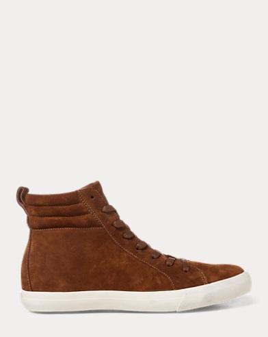 Gaven Suede High-Top Sneaker