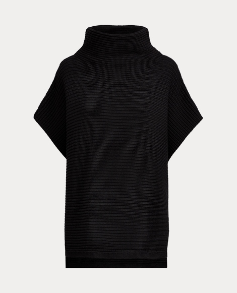 Ribbed Funnelneck Sweater