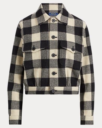 Merino Buffalo Check Jacket