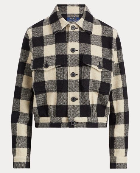 Merino Buffalo Check Jacket