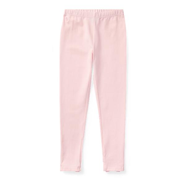 Ralph Lauren Bow-Back Jersey Legging Hint Of Pink S