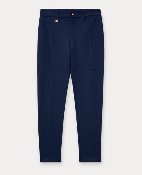 Cotton-Blend-Ponte Legging