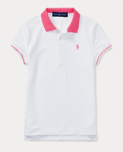 Pink Pony Stretch Polo Shirt
