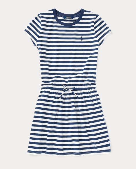 Striped Jersey Tee Dress