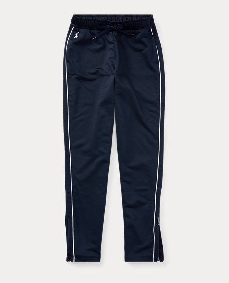 Striped French Terry Jogger