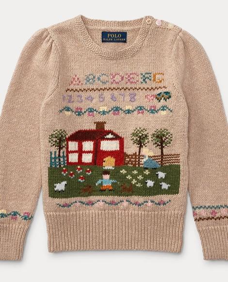 Schoolhouse Cotton Sweater
