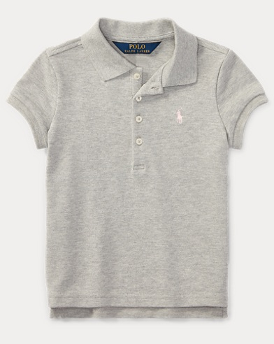 Stretch Mesh Polo Shirt