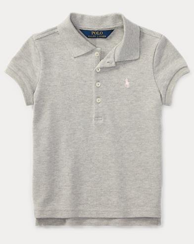 Stretch Mesh Polo Shirt