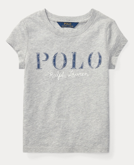 Polo Cotton Jersey Graphic Tee