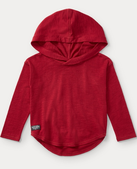 Cotton Hooded Pullover