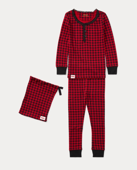 Buffalo Check Pajama Set