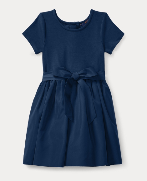 Stretch Fit-and-Flare Dress