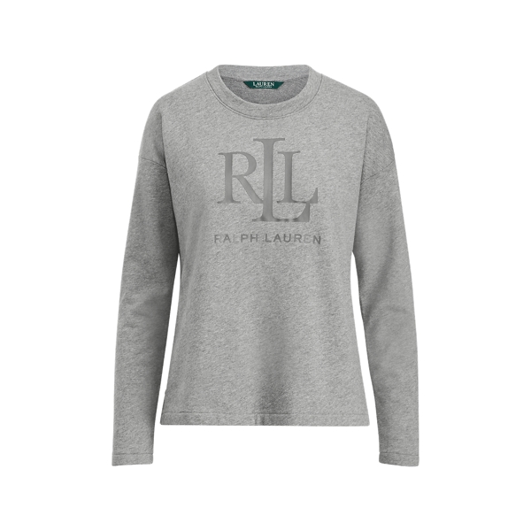 Ralph Lauren Lrl French Terry Sweatshirt Cityscape Grey Heather Xs