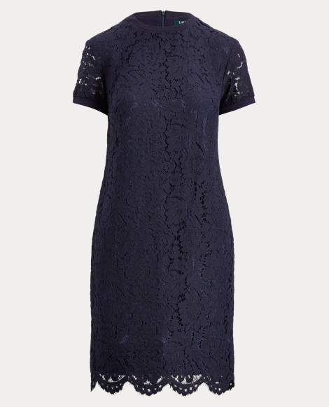 Lace T-Shirt Dress