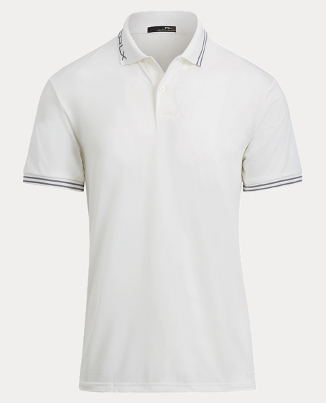 Custom Fit Jacquard Polo Shirt
