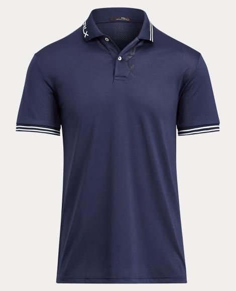 Custom Fit Jacquard Polo Shirt