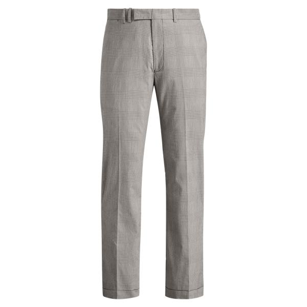 Ralph Lauren Classic Fit Cotton-Blend Pant Glen Plaid 30