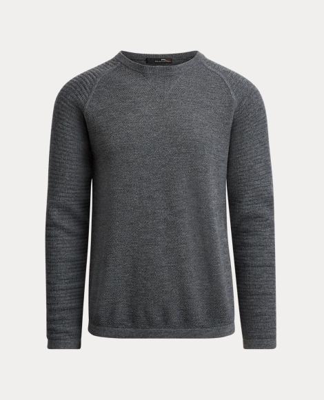 Wool-Blend Crewneck Sweater