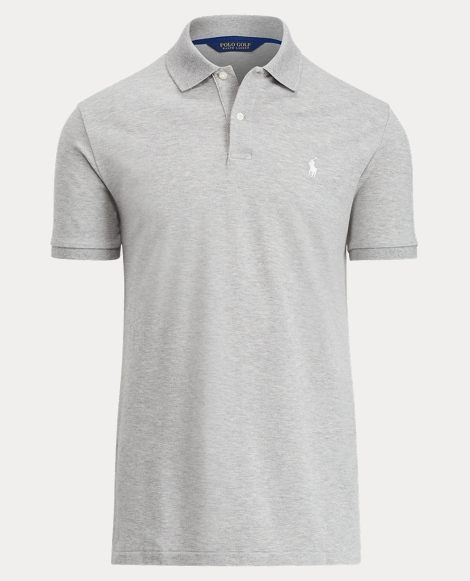 Custom Fit Stretch Mesh Polo