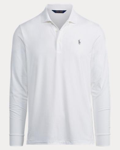 Custom Fit Long-Sleeve Polo