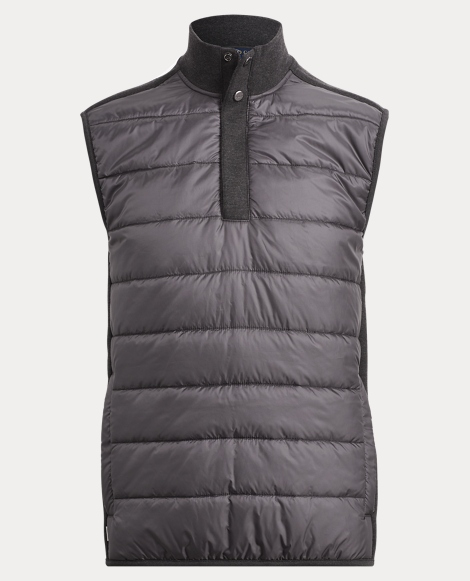 Knit-Paneled Ripstop Vest