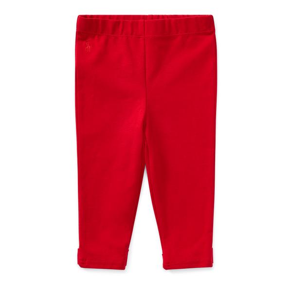 Ralph Lauren Bow-Back Legging Park Ave Red 3M