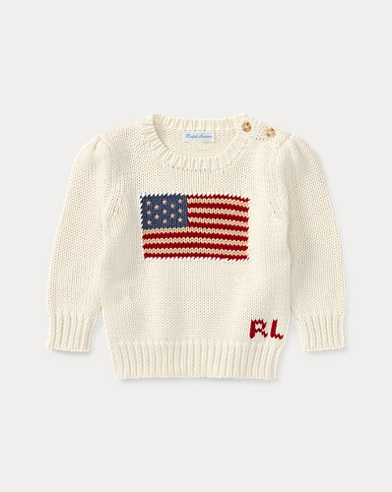 Flag Cotton Sweater