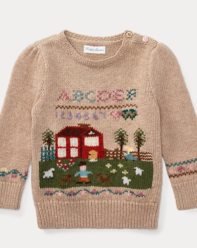 Schoolhouse Cotton Sweater