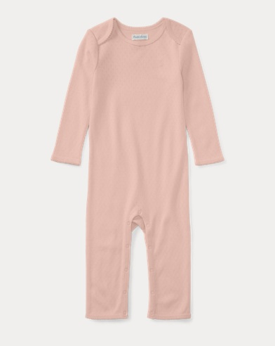 Pointelle Cotton Coverall