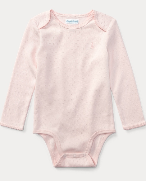 Pointelle Cotton Bodysuit