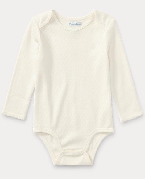 Pointelle Cotton Bodysuit