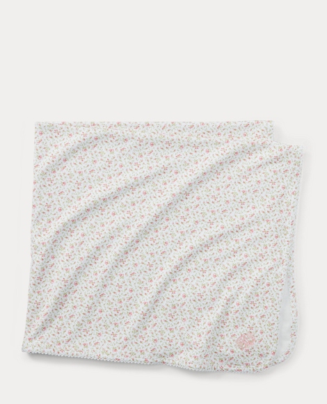Floral Cotton Blanket