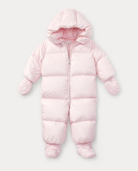 Quilted Down Snowsuit