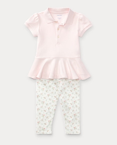 Cotton Polo & Legging Set