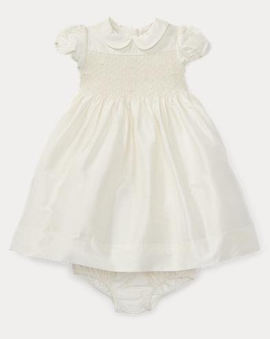 Silk Taffeta Dress & Bloomer