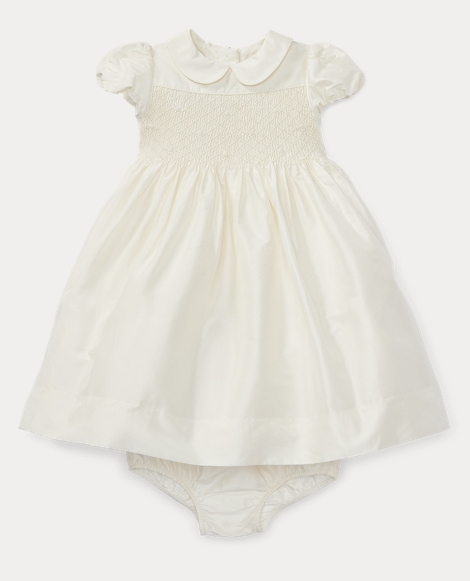 Silk Taffeta Dress & Bloomer