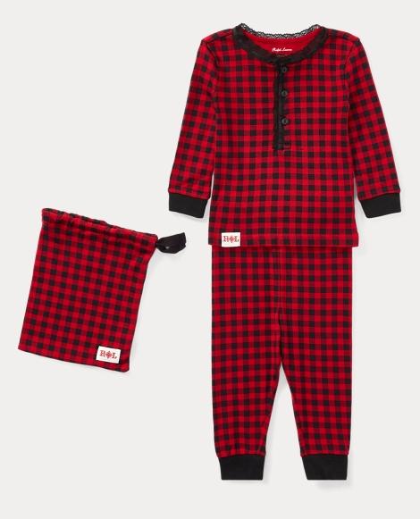 Buffalo Check Pajama Set