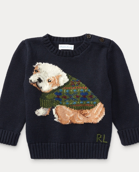 Dog Cotton-Blend Sweater