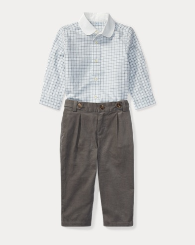 Cotton Shirt & Trouser Set