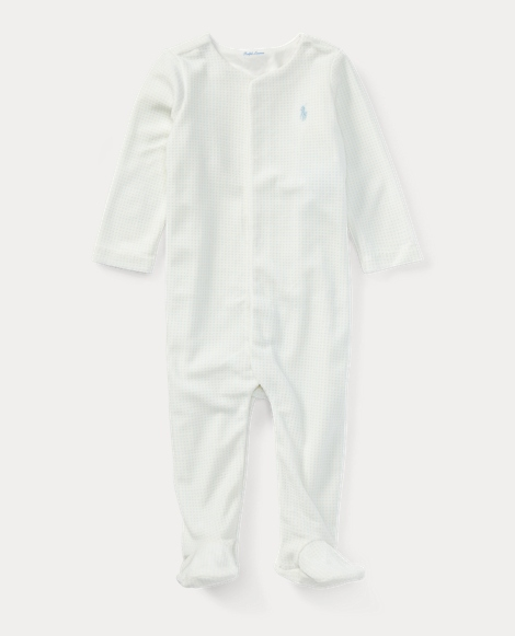 Cotton-Blend-Velour Coverall