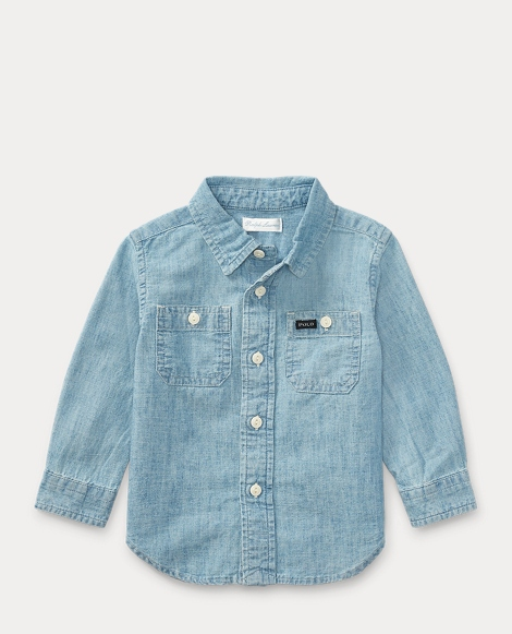 Cotton Chambray Workshirt