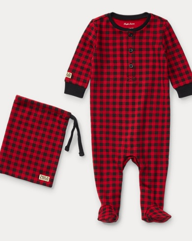 Buffalo Check Sleep Coverall
